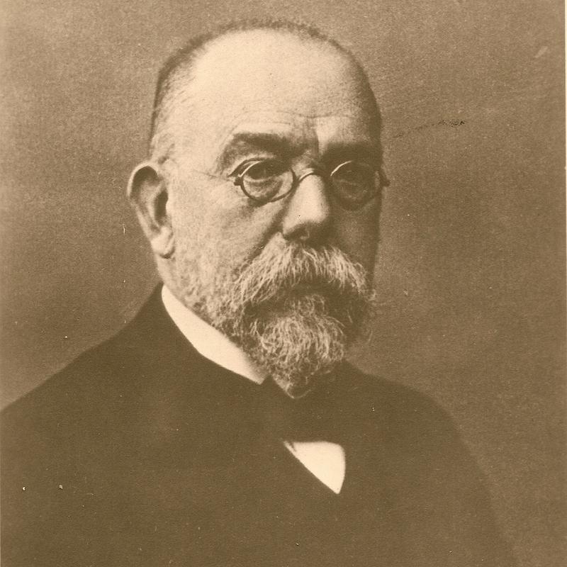 Zdjęcie portretowe Roberta Kocha. Wykonane około 1905 roku.