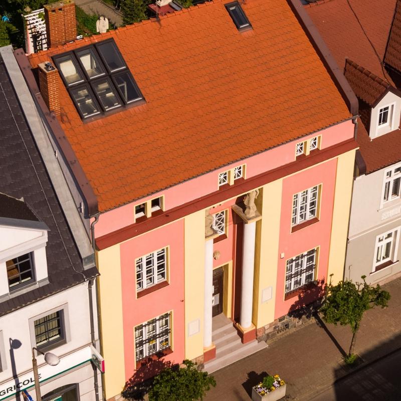 Muzeum Marcina Rożka. Widok od strony ulicy 5 Stycznia.