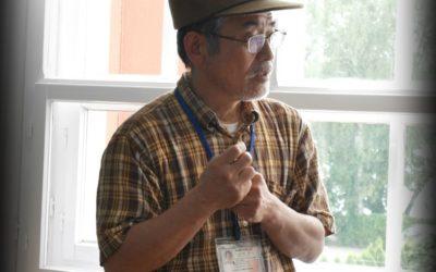 Hiroshi Kojima w Muzeum Marcina Rożka