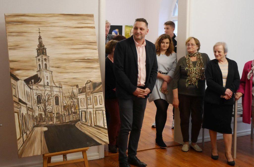 Wystawa malarstwa Tomasza Weissa