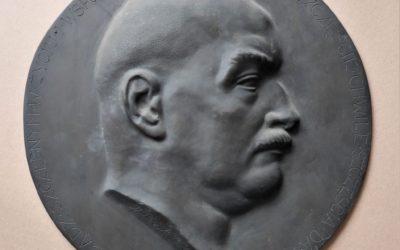 Medalion autorstwa Marcina Rożka z 1926 r.